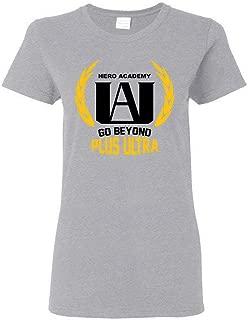U.A. High School Go Beyond Plus Ultra Boku No - My Hero Academia Women/Ladies/Girls T-Shirt