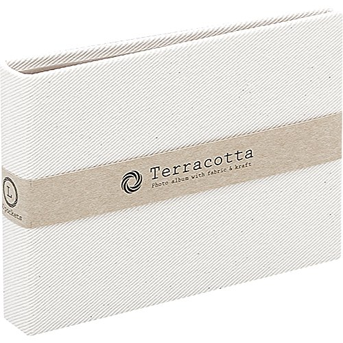 ナカバヤシ テラコッタ 溶着式ポケットアルバム チェキ40枚 ホワイト TER-CK2P-90-W