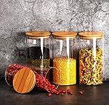 Zoom IMG-1 4 barattoli di cucina in