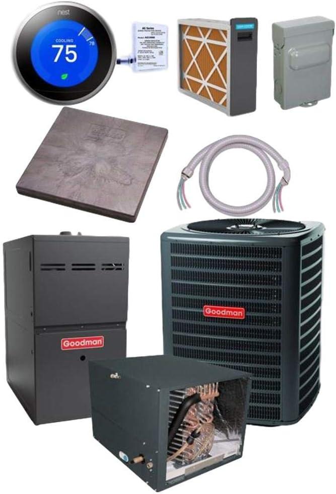 Goodman 3 TON 15 SEER New York Mall CHPF3642 GSX140371 Air NEW before selling ☆ bundle Conditioner