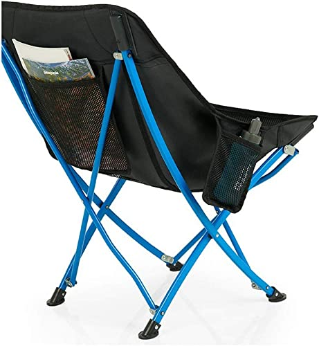 LVJING Chaise de Camping portable - Sac à Dos Ultra-léger Et Pliable pour Le Plein Air, Le Camping, Les Pique-niques Et La Randonnée