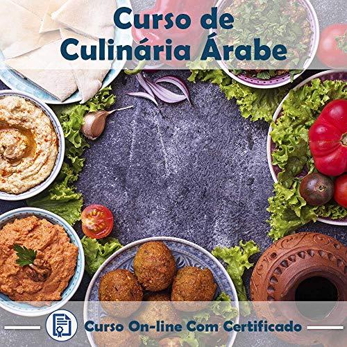 Curso online em videoaula sobre Culinária Árabe com Certificado + 2 brindes