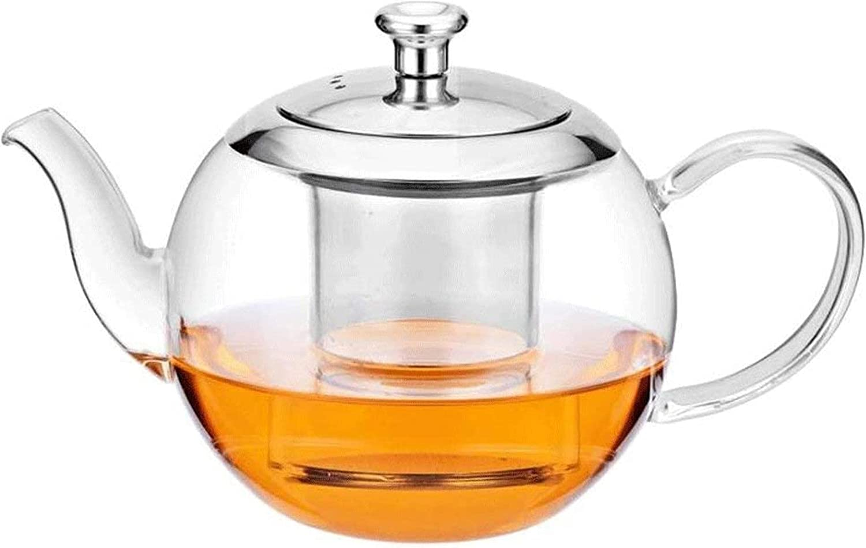 ZXCVBNN Household Glass Kettle Brewin Teapot Award Tea Heat Price reduction