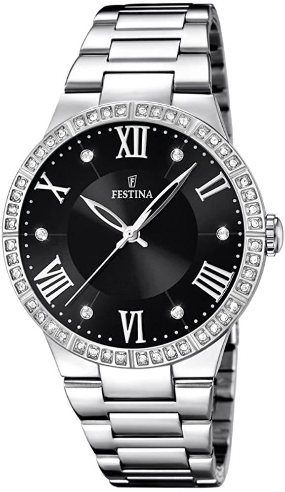 Festina orologio analogico Da donna in acciaio inossidabile F16719/2