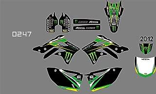 MXP Dirt bike sticker DST0241 3M Customized Motorcross Stickers Motorcycle Decals Graphics Kit for KAWASAKI KXF450 2012 (0247)