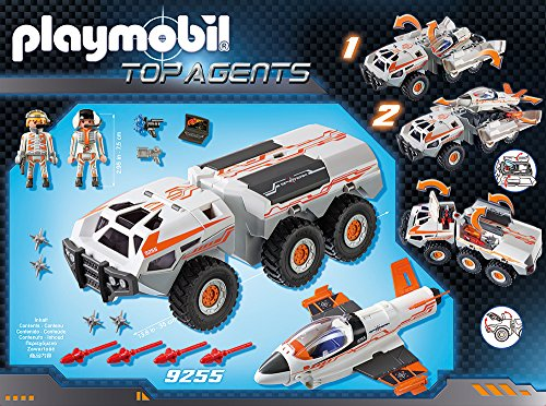 PLAYMOBIL 9255 – Spy Team Battle Truck - 4