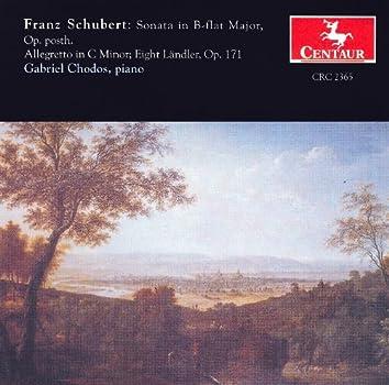 Schubert, F.: Piano Sonata No. 21 / 12 Deutsche (Landler) / Allegretto in C Minor