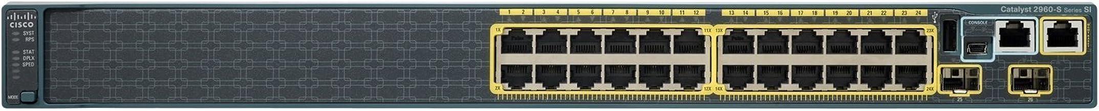 Catalyst 2960S 24GIGE CPNT2X SFP LAN Lite IN