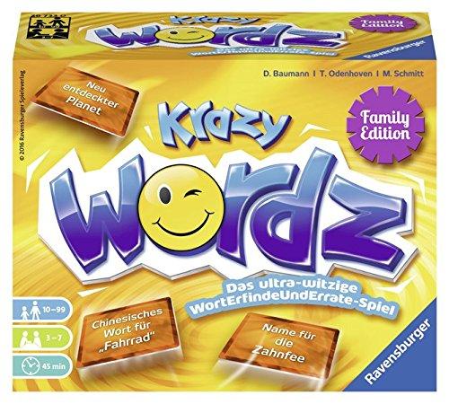 Krazy Wördz Family Editon: Das wahnsinns-witzige WortErfindeUndFinde-Spiel