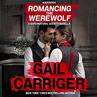 Romancing the Werewolf audiobook cover art