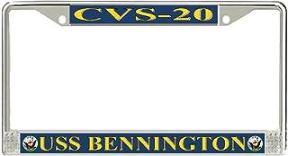 MilitaryBest USS Bennington CVS-20 License Plate Frame