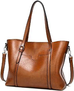 Women PU Leather Tote Bag Large Capacity Shoulder Bags Backpacks Handbag