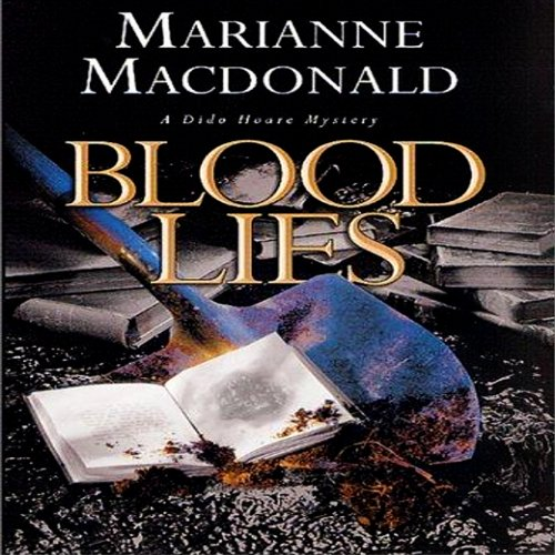 Blood Lies audiobook cover art