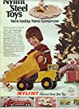 Print ad: 1973 Nylint Steel Toys, 'Here Today, Here Tomorrow'
