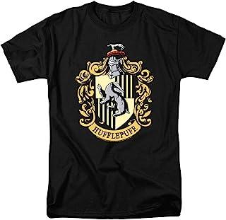 Popfunk Harry Potter Hogwarts Hufflepuff Logo Adult T Shirt & Stickers