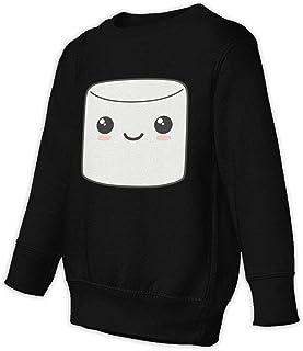 Marshmallow 子供服 春秋 長袖 Tシャツ トレーナー 丸い襟 キッズ 男の子 女の子 ベビー おしゃれ カジュアル ファッション 可愛い