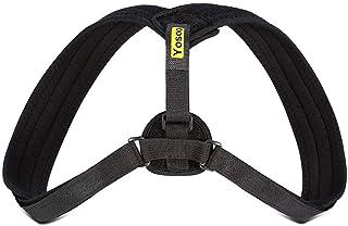 Hållningskorrigering rak hållare axelbaksida hållningsbandage Justerbar storlek för män och kvinnor