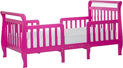 Dream On Me Emma 3 in 1 Convertible Toddler Bed, Fuschia Pink