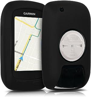 comprar comparacion kwmobile Funda Compatible con Garmin Edge 800/810 / Touring Plus - Carcasa de Silicona para GPS - Cover en Negro