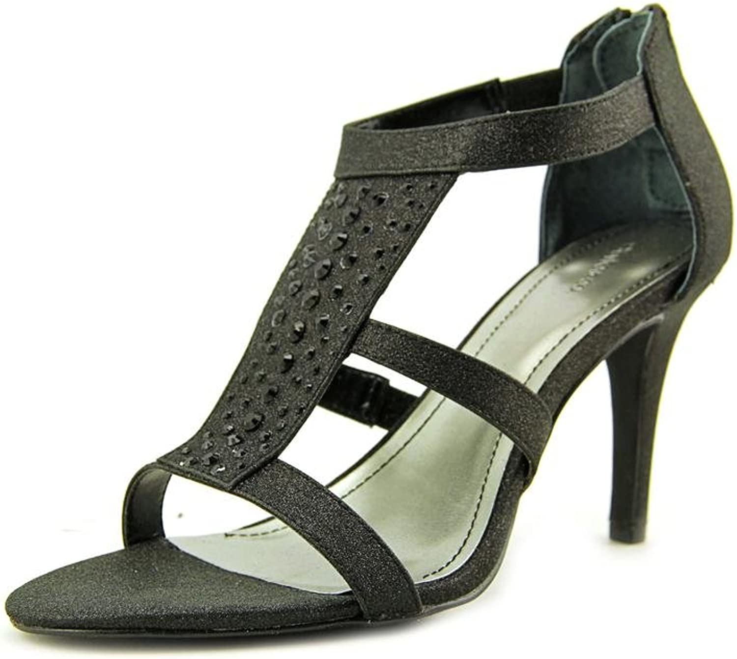 Style & Co Pacina Womens Size 6 Black Dress Sandals shoes