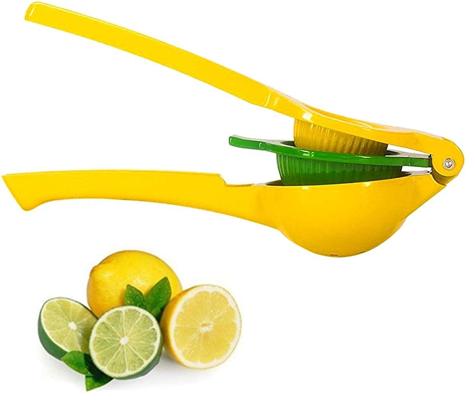 Lemon Squeezer New Premium Quality Metal Lime Squeezer Manual Citrus Press Juicer 2 In 1 With Long Handle Spoon By Best Shop 2016