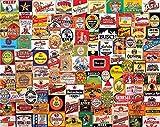 White Mountain Puzzles - Etiquetas de cerveza (1000 piezas)