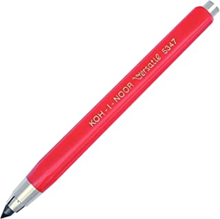 KOH-I-NOOR 5347 5.6mm Diameter Mechanical Clutch Lead Holder Pencil - Red