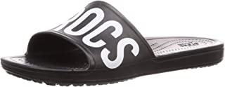 crocs Sloane Logo Mania Women Black Slide
