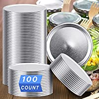 100-Count Kinghouse Regular Mouth Canning Lids for Ball & Kerr Mason Jars