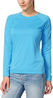 BALEAF Women's UPF 50+ Sun Protection Long Sleeve Outdoor Performance T-Shirt