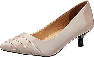 Carlton London Women's Grey Heeled Sandal