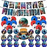 Godzilla VS Kong Birthday Party Decorations...