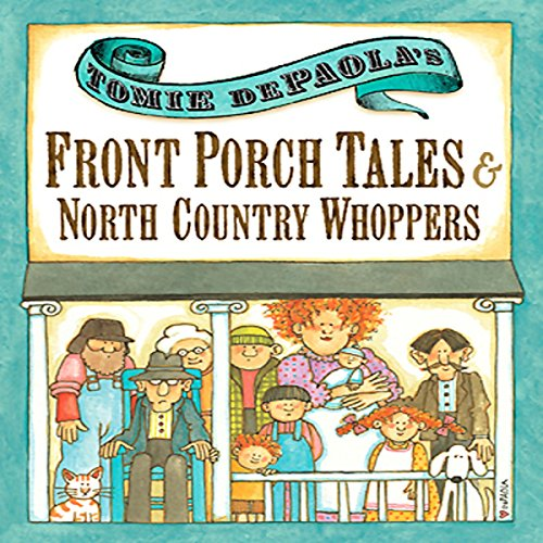 Front Porch Tales and North Country Whoppers cover art