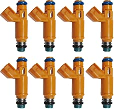Set 8 Fuel Injectors 2W93-AA for Jaguar Land Rover Range Rover 4.2L 4.4L V8