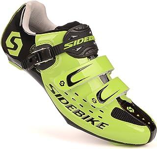 [SIDEBIKE] 自転車 ビンディング シューズ ロード バイク スポーツ サイクリング シューズ SD001-RD