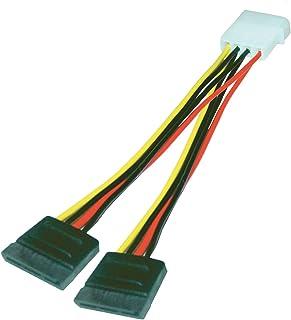 MCL MC610 Cable de SATA 0,015 m - Cable SATA (0,015 m, Male Connector/Female Connector)