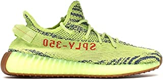 350 Mens Womens Semi Frozen Yellow Zebra Sesame Fashion Sneakers
