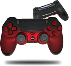 Cinch Gaming PS4 Red Fade Custom Pro Tournament Controller- 2 Rear Action Buttons, Right Circle, Left X