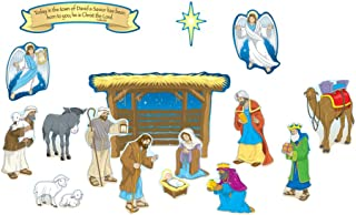 Carson Dellosa Christian Nativity Bulletin Board Set (210027)