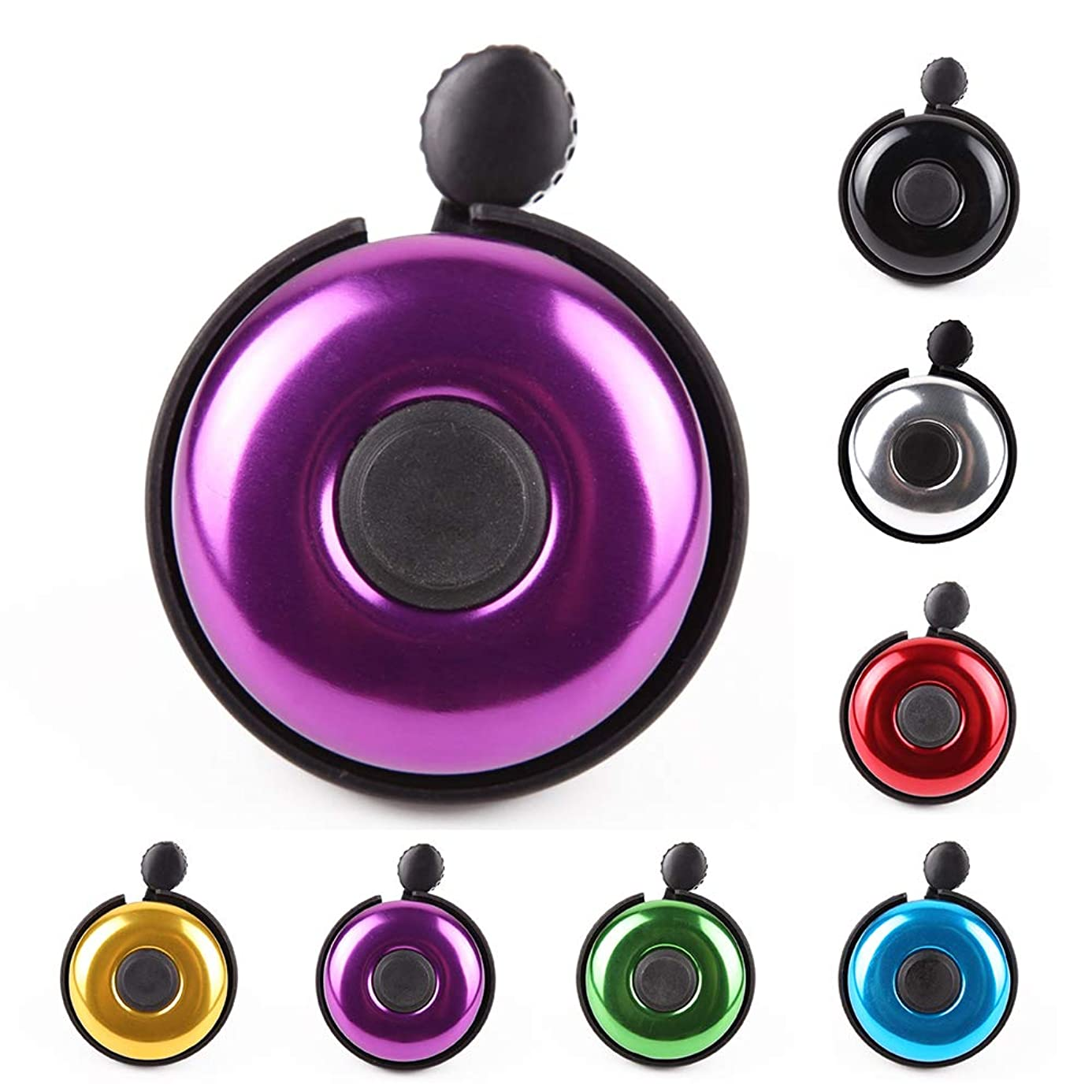 MOFAST Bike Bell for Adult Kids Girls Boys (2 Styles, 7 Colors)