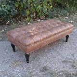 Design 59 inc. LARGE Vegan Leather Tufted...