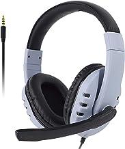 Fone de ouvido para jogos com microfone para PS5, PS4, Xbox, Nintendo Switch e PC, fones de ouvido circum-auriculares Nexi...