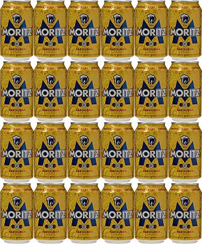 MORITZ Cerveza rubia nacional Dose DPG Bierpaket (EINWEG 36x33cl) (Pack 36 Dosen) Beer, Sor, Ol, Cerveza, Piwo, Olut, Biere, пиво, bier geschenke, biere der welt, san miguel bier, bier set