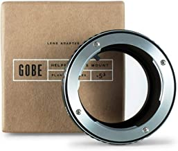 Gobe Lens Mount Adapter: Compatible with Olympus OM Lens and Fujifilm X Camera Body