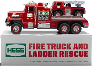 Best hess fire truck and ladder rescue Reviews