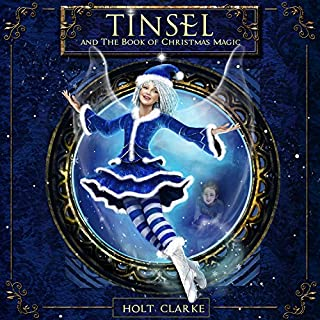 Tinsel and the Book of Christmas Magic audiobook cover art