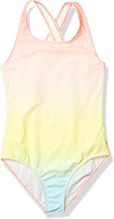 Lucky Brand girls Girls' One-Piece Swimsuit One Piece Swimsuit