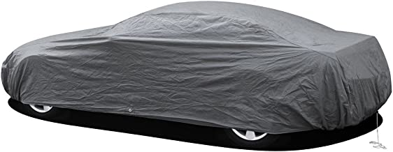"""OxGord Premium Car Cover - in-Door 2 Layers - Economical Alternative - Ready-Fit/Semi Glove Fit (X-Large Fits up to 204"""")"""