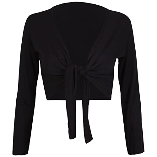 find Womens Cardigan in Jersey with Ruched Back-Tie Brand