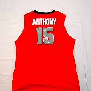 d2041a26b Carmelo Anthony Syracuse Orange Autographed Signed Jersey Memorabilia JSA